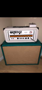 Orange Rocker 30 white edition UK (head)