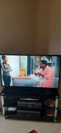 """Samsung 46"""" freeview hd led TV"""