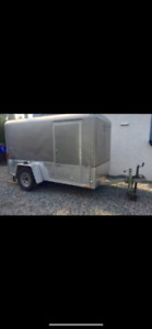 2007 Wells Cargo wired, insulated motorcycle storage for winter