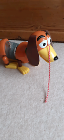 1999 Pull Along Slinky Dog From Toy Story James Industries