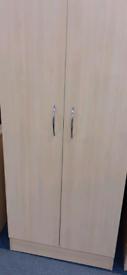 Beech bedroom wardrobe
