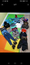 Bundle Boy 18-24 and some 2-3 year old clothes plus clarks shoes