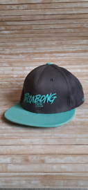 Surfer cap Billabong turquoise and grey.