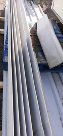 Fibre cement roll top barge boards
