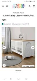 Keswick Baby Cot / Bed