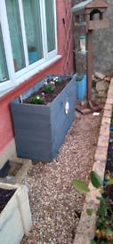 Home made planters