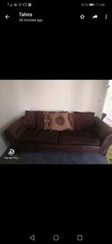 2 x 4 Seater Sofas, Good Condition