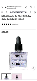 Brand new luxurious nail cuticle oil