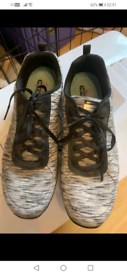SKETCHERS TRAINERS SIZE 8
