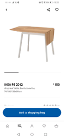 Table solid IKEA