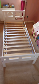 IKEA toddler bed with gaurd rail