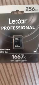 Lexar professional 256GB, £50