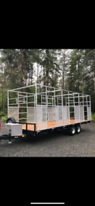 8.5'  x 24 ' - Deck Over Trailer