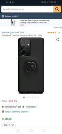 Samsung s21 ultra quad lock case