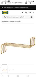 Ikea Gold shelf