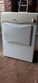 Whirlpool vented tumble dryer
