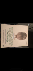 Research Methods and statistics in psychology. 2nd Ed.