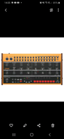Behringer Crave Synthesizer