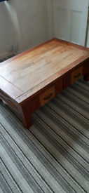 Coffee table (solid wood)