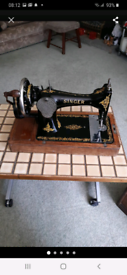 Singer 1922 sewing machine ovnso