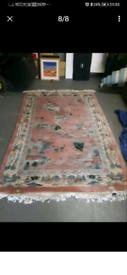 💯 wool Chinese rugs