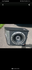 Vibe 1600w subwoofer built in amp