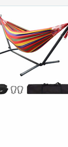 Brand new Hammock with stand