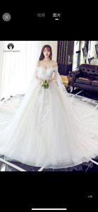 Brand New Wedding Gown Ball Gown