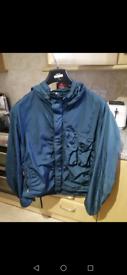 Cp company emerald nylon jacket shimmer goggle jacket xl stone island