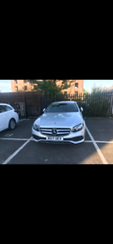 Mercedes-Benz E200d 2017 Model Private hire Manchester Plated