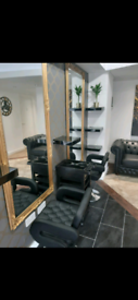 Chair to rent in a popular salon