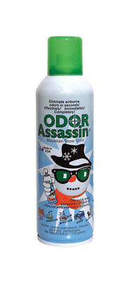NEW! ODOR ASSASSIN Odor Eliminator Mountain Snow Scent 6 oz.  124953