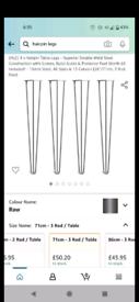 Hair pin table legs