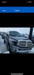 Parting out 2008 Dodge Ram 3500 diesel