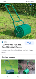 Wanted lawn roller