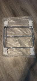 chrome bathroom towel rail