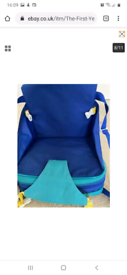 Portable travel booster seat