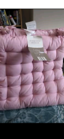 2 pack Pink chair seat pads by Kirkton BN