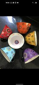6 new big mugs