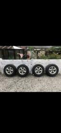 Alloy Wheels / Landrover / Range rover / 4x4 / offroad / p38