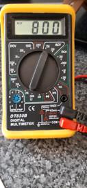 Digital Multimeter DT-830B With Case