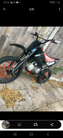 Stomp crf70 pitbike