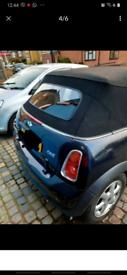2007 mini cooper one convertible Black edition