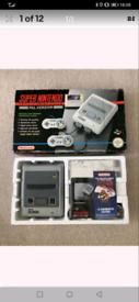 1992 Super Nintendo console