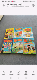 Beano and Dandy annuals 80's and 90s