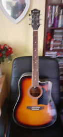 Chord semi acoustic guitar