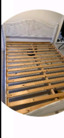 King size Wooden bed frame in good condition