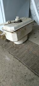 Toilet cistern cast iron