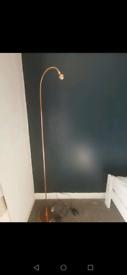 IKEA rose gold led lamp