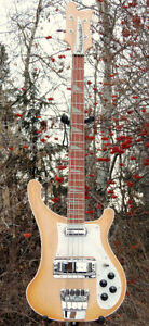 Rickenbacker Bass 1of 6 painted by PaulKarslake for Chris Squire